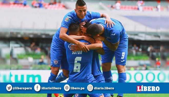 Cruz Azul venció 4-1 al Pachuca en la Jornada 11 del Clausura de la Liga MX.   746cf682c75d8