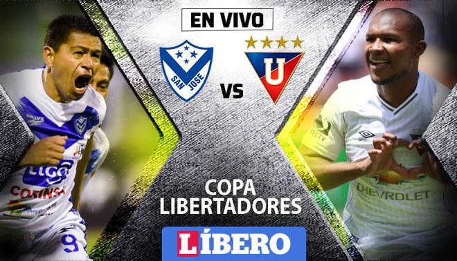 Resultado de imagen para San José vs LDU Quito