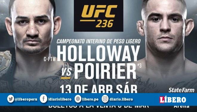 UFC 236: Holloway vs. Poirier 2 | conoce la cartelera completa del nuevo evento de MMA
