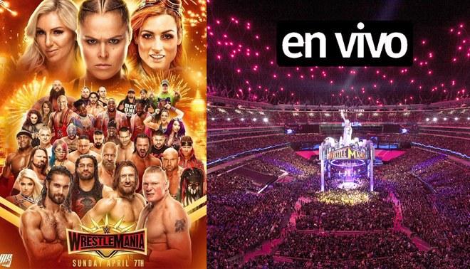 WrestleMania 35 EN VIVO GRATIS WWE Network por FOX Action | fecha, hora, canal, cartelera, evento PPV, Guía TV y Link ONLINE Perú México | Ronda Rousey | Seth Rollins | Brock Lesnar
