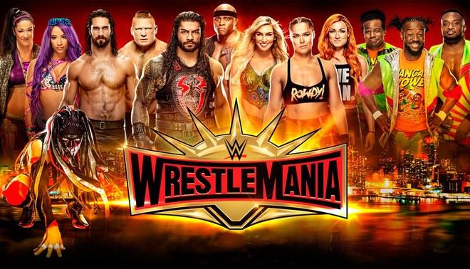 WWE Fox Action LIVE Wrestlemania 35: Schedule and Billboard