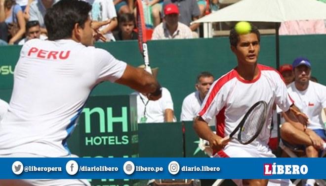 Perú se impuso 3-2 a El Salvador y acabó primero en su grupo de Copa Davis