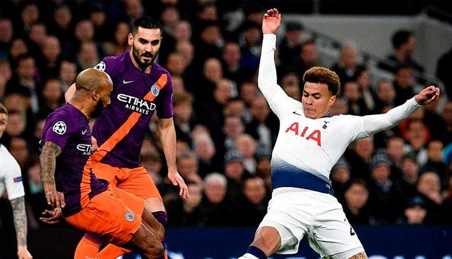Manchester City Vs Tottenham Hotspur Voley 2019 En Vivo