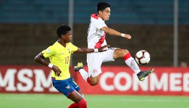Perú empató 1-1 ante Ecuador por fecha 4 de Hexagonal Final del Sudamericano Sub-17