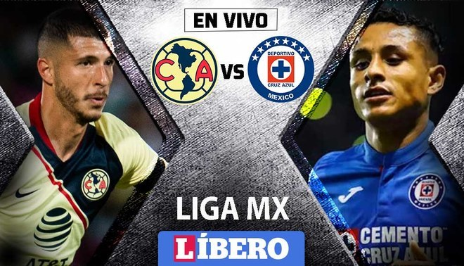 America Vs Cruz Azul En Vivo Chocan En Clasico Joven Por Liga Mx