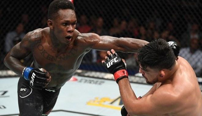 UFC   Israel Adesanya derrotó a Kelvin Gastelum y es campeón interino de los pesos medianos de UFC 236
