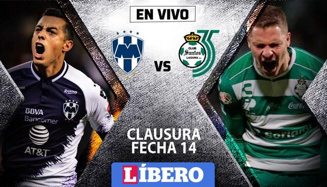 Monterrey Vs Santos Laguna EN VIVO HOY ONLINE Vía Fox
