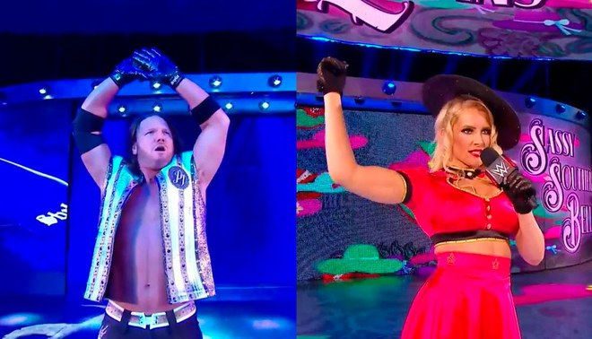 WWE: AJ Styles se incorpora a RAW y Lacey Evans se convierte en retadora al título femenino [VIDEO]