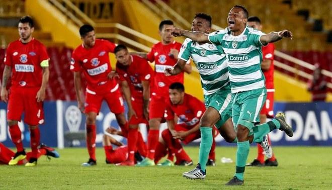 Copa Sudamericana 2019: Intentó definir a lo 'Panenka', pero terminó haciendo el ridículo [VIDEO]