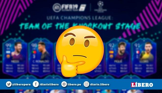 Cristiano y Messi tienen nuevas cartas en FIFA 19, tras los cuartos de final de la Champions League [FOTOS]