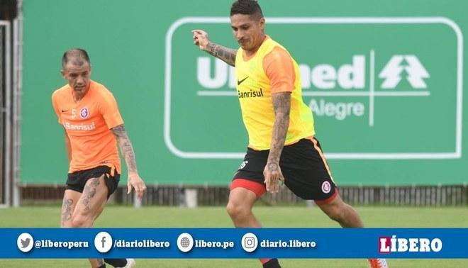 Paolo Guerrero se prepara para el encuentro frente a Alianza Lima por la Copa Libertadores 2019