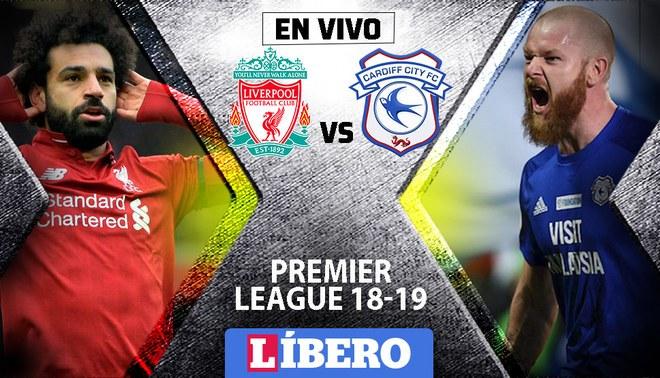 Liverpool vs Cardiff City EN VIVO: Por la jornada 35 de la Premier League