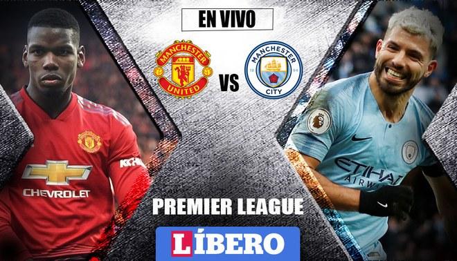 Manchester City vs Manchester United EN VIVO: partidazo pendiente en la Premier League