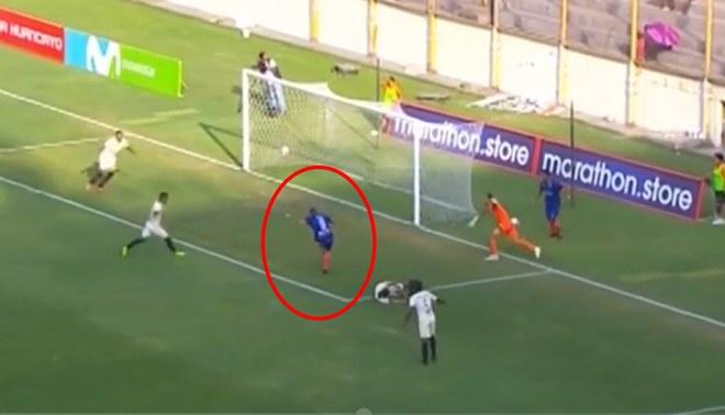 Santiago Silva silencia el Monumental y anota el 1-0 para la visita | Foto: Gol Perú