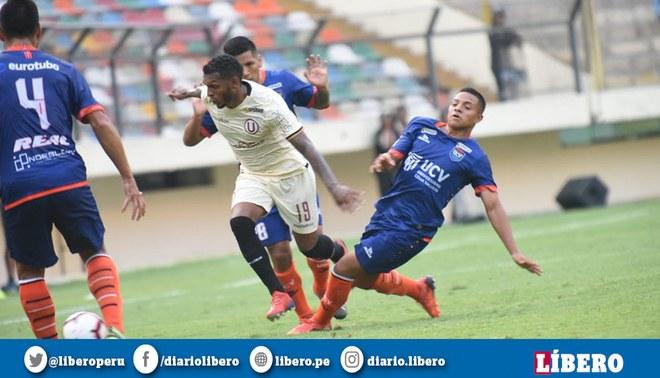 Alberto Quintero estuvo inoperante ante Vallejo. Foto: Liga 1.
