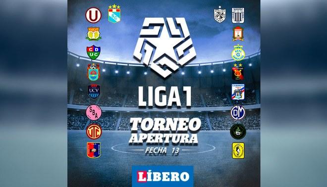 Liga 1 Movistar EN VIVO: Programación, hora, canal, resultados y tabla de posiciones de fecha 13 de Torneo Apertura 2019