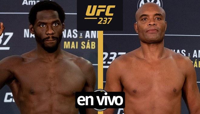 Anderson Silva vs Jared Cannonier ONLINE: fecha, horario y canal Combate Brasil ESPN EN VIVO Cartelera Main Card GRATIS Legends MMA UFC Río Brasil 2019 | Foto: UFC.com