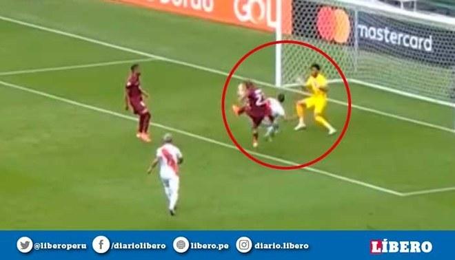 Perú vs Venezuela EN VIVO Pedro Gallese realizó espectacular atajada ante remate de Salomón Rondón en el área chica en la Copa América 2019 | VIDEO