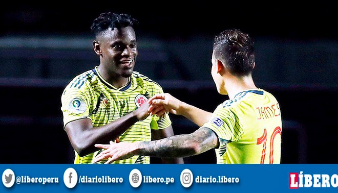 Duván Zapata lleva dos goles en Copa América. Foto: EFE