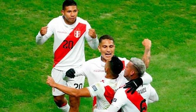 Perú clasificó a la final de la Copa América tras golear a Chile 3-0 | FOTO: EFE