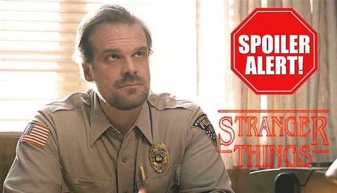 Stranger Things: Easter egg reafirmaría que oficial Hopper estaría vivo