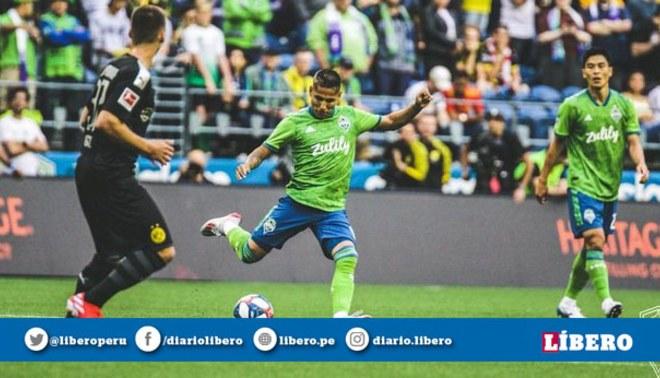 Raúl Ruidíaz pasa por uno de sus mejores momentos de su carrera deportiva. Foto: Seattle Sounders / Twitter