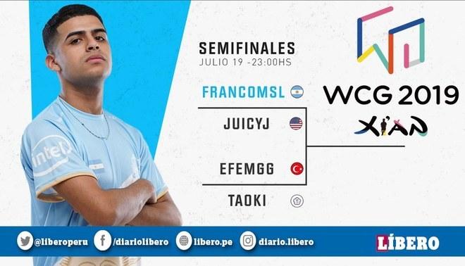 WCG 2019   argentino UND Franco pasa a semifinales de Clash Royale