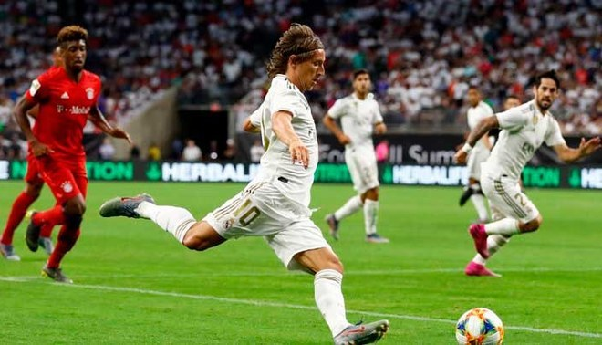 Real Madrid vs Bayern Múnich [EN VIVO] Hazard debuta en la International Champions Cup | FOTO: Twitter