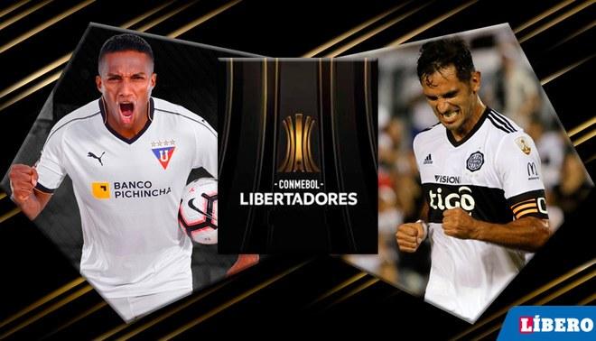 LDU vs Olimpia EN VIVO vía Fox Sports 3: octavos de final de la Libertadores 2019