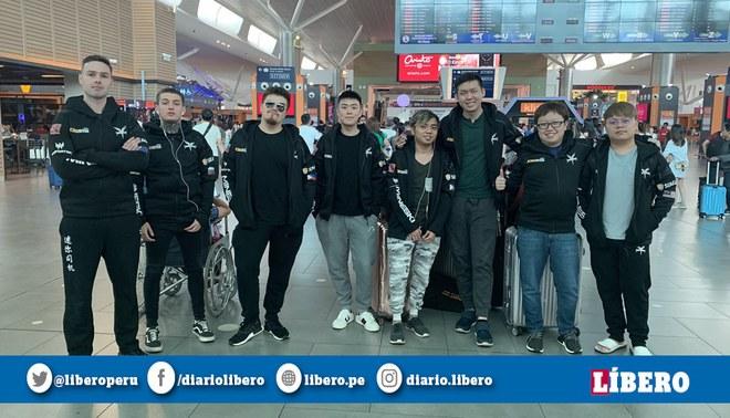 Mineski partió a Shanghái el 12 de agosto. | Foto: Mineski