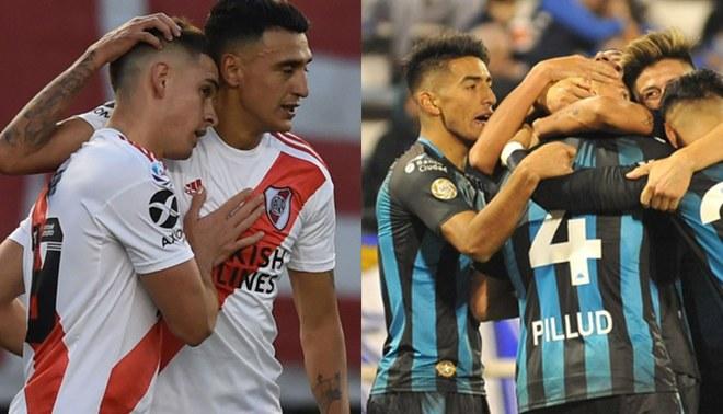EN VIVO River vs Racing: partidazo por la fecha 3 de la Superliga Argentina.