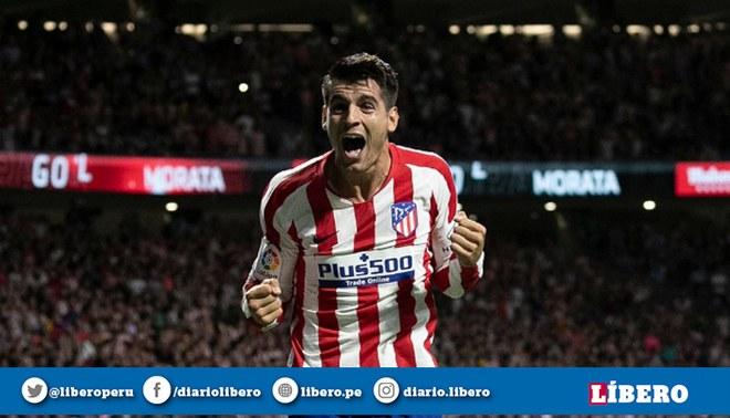 ESPN [EN VIVO] Atlético Madrid vs Getafe: 'Colchoneros' vencen 1-0 por la Liga Santander. Créditos: Atlético de Madrid.