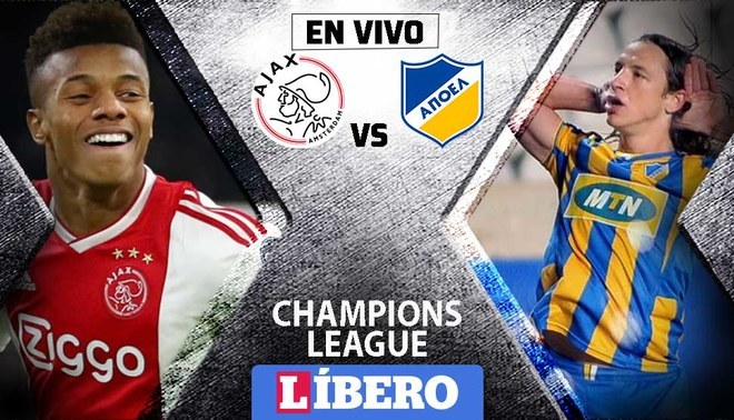 Image Result For Apoel Vs Ajax En Vivo Y Online