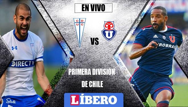 VER EN VIVO Universidad Católica vs Universidad de Chile ONLINE vía CDF Premium por la Primera División