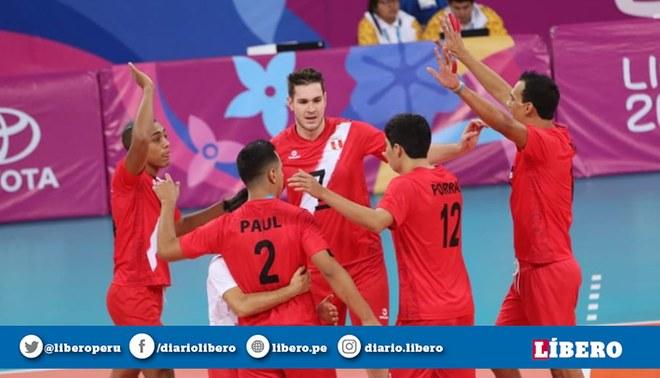 Selección Peruana de Vóley Masculino mentalizado en hacer historia en el Sudamericano de Chile. Créditos: FPV.