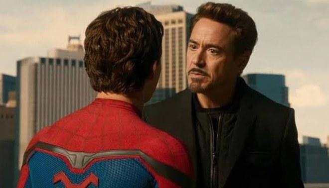 """""""Spider-Man 3"""": Robert Downey Jr regresaría como Tony Stark de la mano de Tom Holland"""