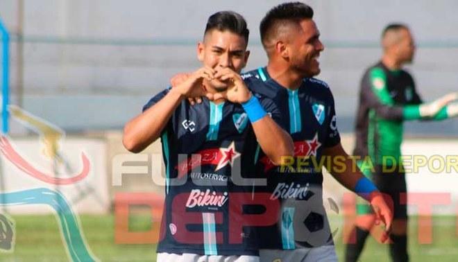 Jugadores de Maristas de Huacho celebran un gol ante Palmeiras del Callao (Full Deporte Huacho).