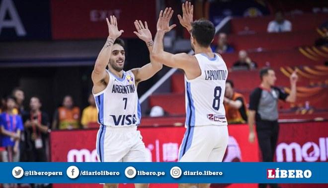 Argentina vs Serbia EN VIVO: por los cuartos de final del Mundial de Básquet China 2019. Créditos: @cabboficial.