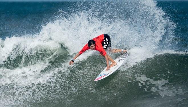Sofía Mulanovich a la final del Mundial ISA Surf 2019. Foto: ISA / Ben Reed