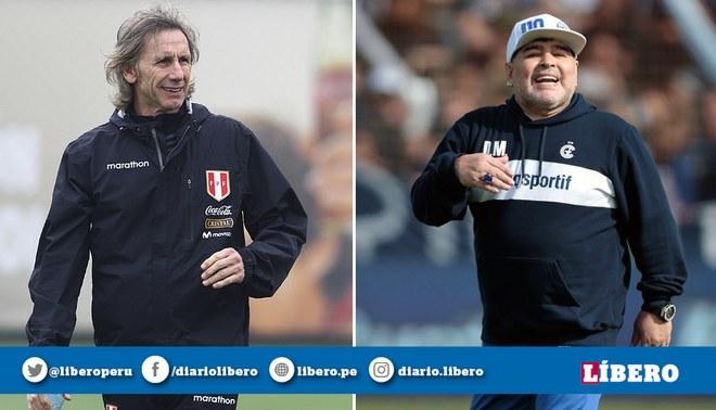 Ricardo Gareca y Diego Armando Maradona jugaron juntos en Boca Juniors.
