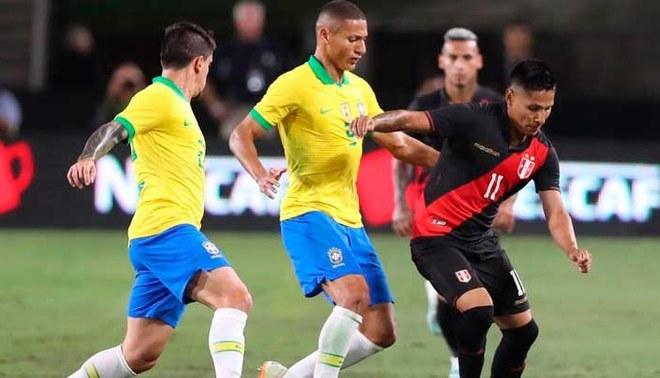 Perú vs Brasil Amistoso internacional