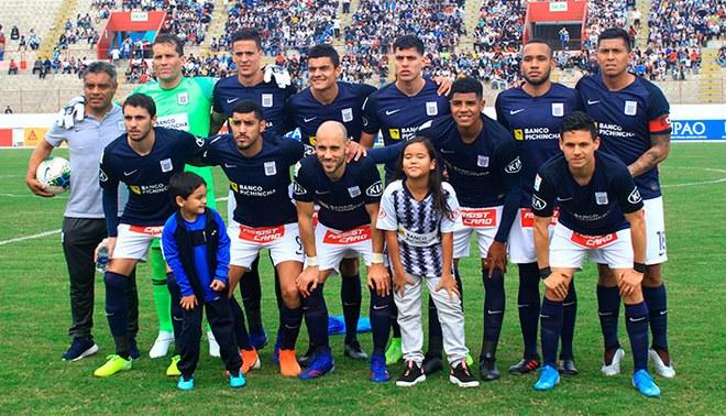 Alianza Lima: once que enfrentó a Municipal.