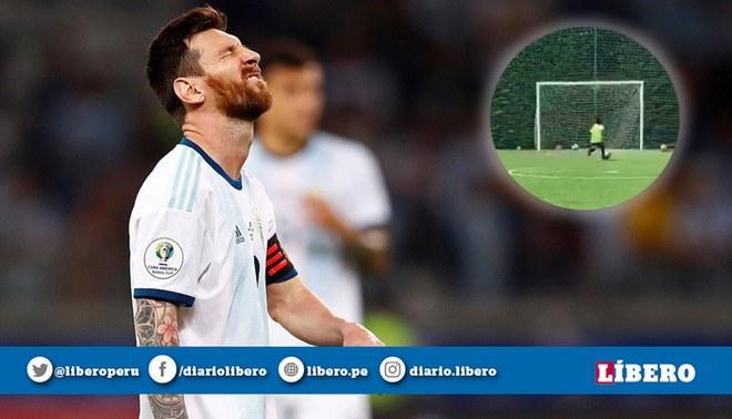 Lionel Messi: Mateo Messi, cuatro años la rompe y lo comparan con su papá | FOTO: EFE