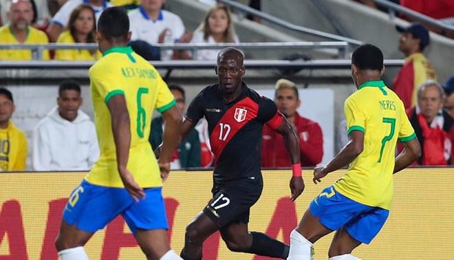Selección peruana. Fuente: FPF