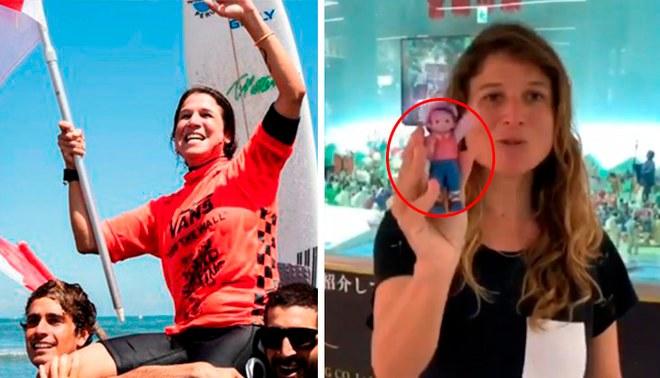 Sofía Mulanovich y la muñeca que se encontró en el mar antes de coronarse campeona mundial