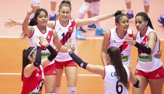 EN VIVO Perú vs Rumanía Mundial Voley Sub 18: Blanquirroja busca quedar en el top 5 | FOTO: ITEA
