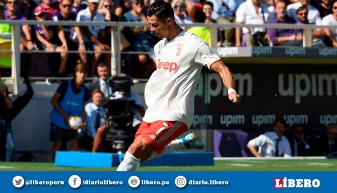 Juventus la pasó mal en su duelo contra la Fiorentina. Foto: EFE.