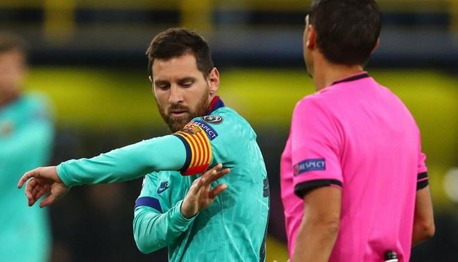 Barcelona vs Borussia Dortmund |  Lionel Messi se estrenó en esta temporada luego de ingresar en el segundo tiempo de la Champions League.