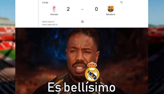 Barcelona perdió con Lionel Messi ante el Granada y dejó estos hilarantes memes [FOTOS]