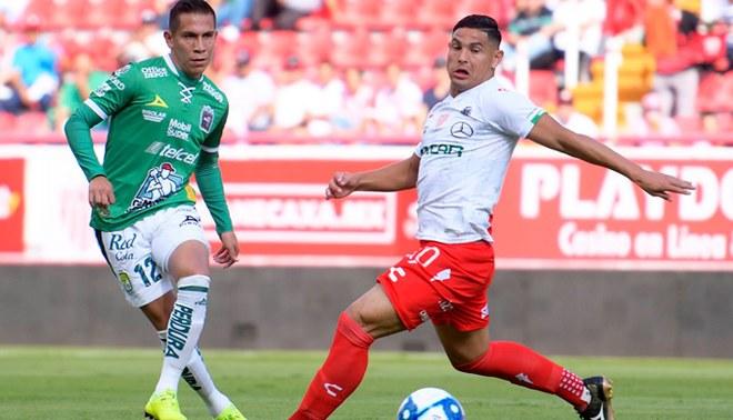 Necaxa 2-2 Club León EN VIVO: por la jornada 10 del Apertura de la Liga MX